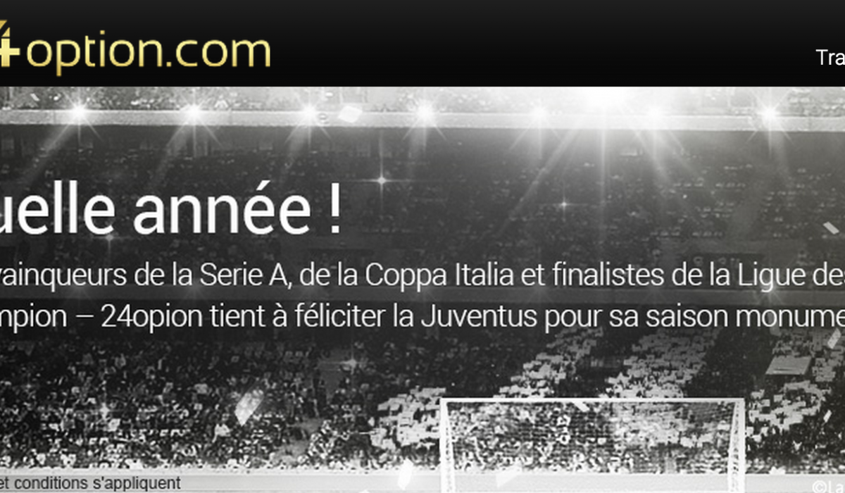 24 option juventus partenariat